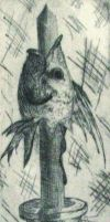 Humor (Fish Head on a Stick) by rockafellow