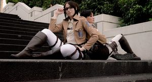 SnK Cosplay - Levihan by mind-crash