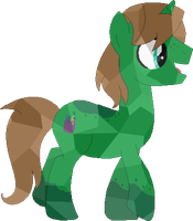 PC: Crystal pony by Starlollipop