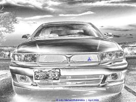 Pencil Galant with Blue by Mindwerkz