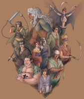 the ten swords by style-xx