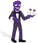 Purple Guy at Your Service by Cephei97