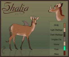 Shalia Reference Sheet by CobraVenom