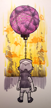 INKtober 2015 - day 23 - For Mabel by Copiani