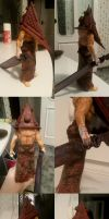 Custom Pyramid Head by bornfromawish5621