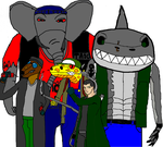 Black Claw and his henchmutants by MonsterIsland1969