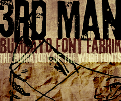 Font '3rd Man' by bumbayo