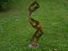 Ant's in the wind (1) by Metal-Sculpture
