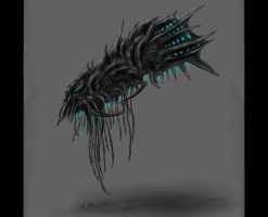 Sovereign Swarm Harvester Concept by SwarmCreator