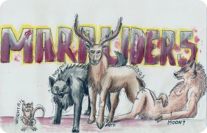 The Marauders by DarkAfi4