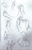 How to Draw Manga Hands SAMPLE 1 by Idioticdanceofidiocy