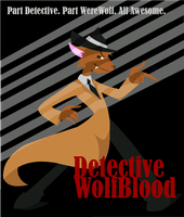 Detective Wolfblood by pixie-the-gator