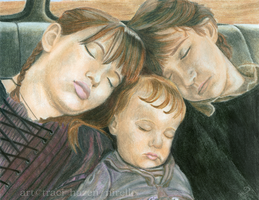 Sweet Dreams, Baudelaires by nirelle