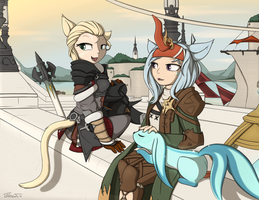 Back to Limsa by TheParagon