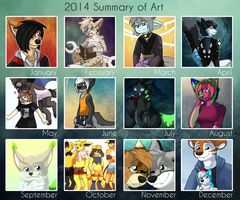 Art Summary 2014 by SevBD