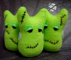 FrankenSomething's Monsters by mintconspiracy