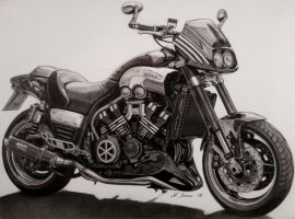 Yamaha V-Max by stephan80