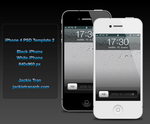iPhone 4 Template v.2 by JackieTran