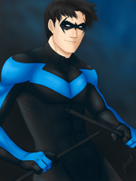 Nightwing by 0theghost0