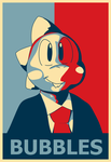 Day 16: Bubble Bobble President by VulpineKeyblader