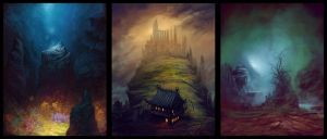 Birthplace of a God Trilogy by ReneAigner