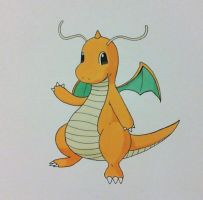 Dragonite by SuperDuperTutorials