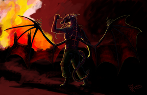 Cool guys don't look at explosions by Anoroth