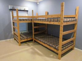 Double Gaffee Bunk Bed by Lupas-Deva