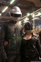 Daft Punk at Antwerp Convention 2014 by KillingRaptor