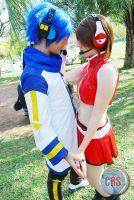Meiko and Kaito - Vocaloid by mariideathy