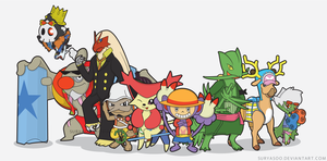 ONE PIECE X POKEMON - NEW WORLD by SuryaSoo
