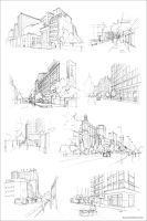 Santiago Sketch Compilation by Fco-G