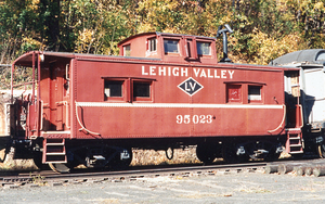 Lehigh Valley RR NE caboose by zippy5