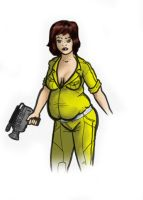 April O'Neil Chubbified by DaBSDK