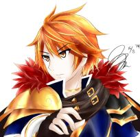 Red Blade Farlon   Brave Frontier by ChelsyChii