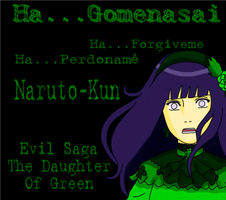 Daughter of Green Hinata Hyuga by Lady-Mime