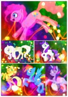 Party Pony Collage by ravenaudron