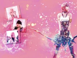 Serah Final Fantasy XIII-2 by softlady