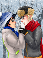 Baby its cold Outside. by uberchicken