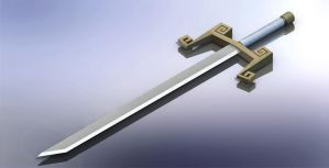 Wind Waker Ganondorf's Sword by JoeCoool