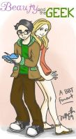 Beauty and the Geek by chaotic-idiot