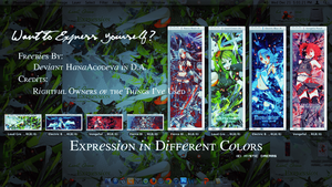 Express Yourself With Different C.O.L.O.R.S. by HanaAcodeva