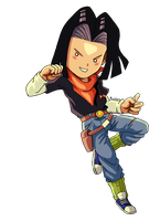 Android 17 by MeoWmatsu