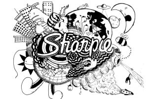 Clear sharpie art by Dr-Blenkaz