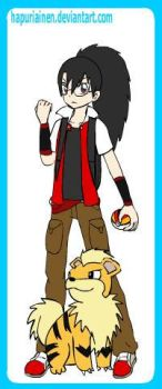 Pokemon Trainer Nolan by xblackrose94x