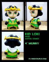 kid loki custom munny by FlyingSciurus
