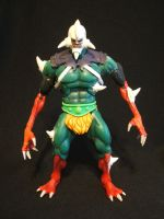 Motuc custom Feral WIP by masterenglish
