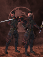 Kenshi Primary - Mortal Kombat X (IOS) by romero1718