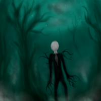The Slender Man by Jaguraawr