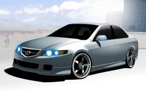 Acura TSX A-Spec by Dannychhang